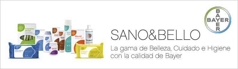 Calcio y Vitamina D3 es un producto de la gama Sano & Bello de bayer